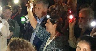 Μαζί με κατοίκους της Αθήνας ο Γιώργος Πατούλης ,στην εκδήλωση διαμαρτυρίας για την κακή κατάσταση του Πεδίου του Άρεως