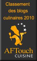 classement blog culinaire