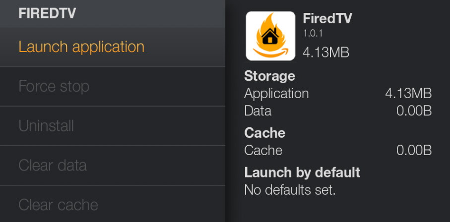 firedtv launcher