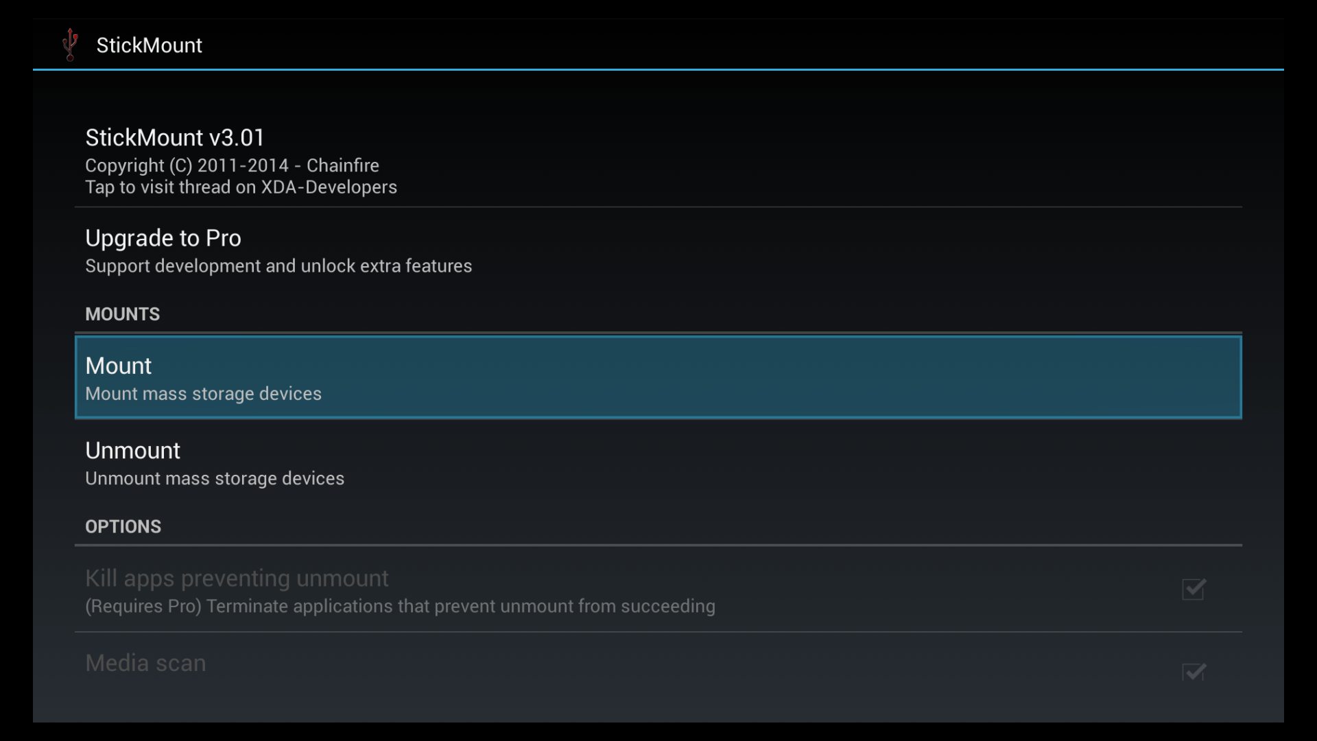 How to move and run Amazon Fire TV apps from an External USB