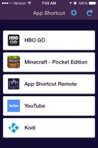 app-shortcut-list
