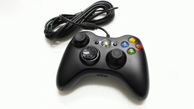 wired-black-xbox360-controller