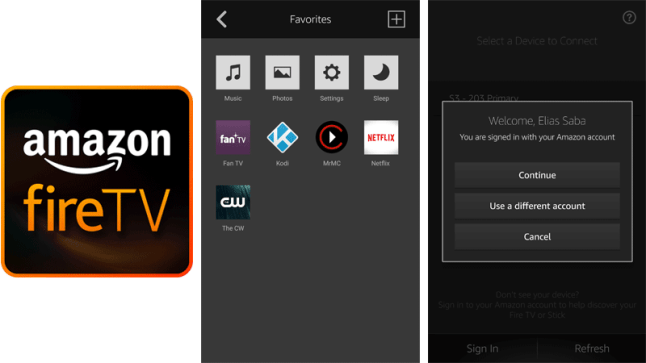 Amazon's Fire TV Remote App can now instantly launch apps
