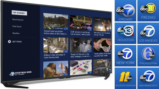 Abc Has Just Released Eight New Amazon Fire Tv And Fire Tv Stick Apps For Local News Coverage In Major Cities Across America