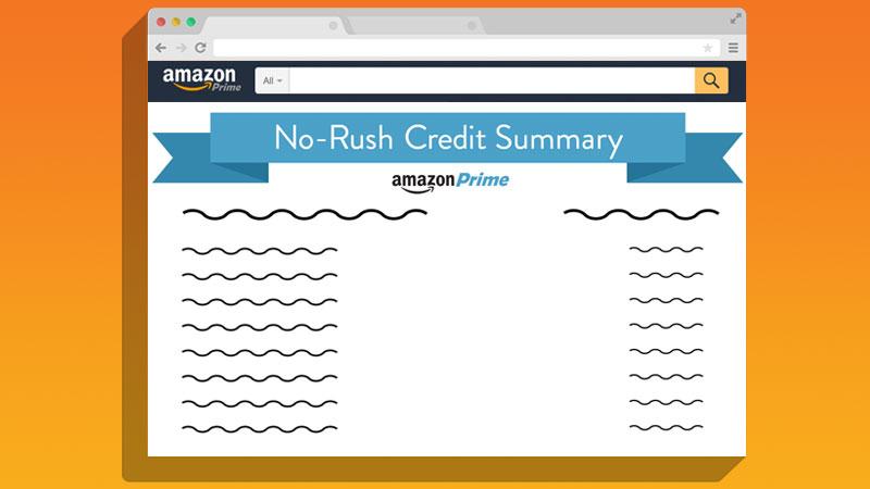 Your Amazon No-Rush Credit might be expiring tomorrow