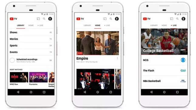 YouTube unveiled their upcoming $35 a month TV service | AFTVnews