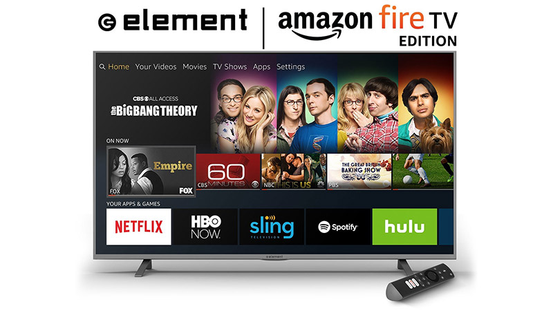 Target has just put two sizes of the Amazon Fire TV Edition televisions by Element on sale. The 50-inch is $299.99 and 55-inch $399.99. 4K are sale at \u2014 50