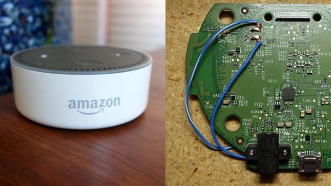 How to modify an Amazon Echo Dot to play audio through both