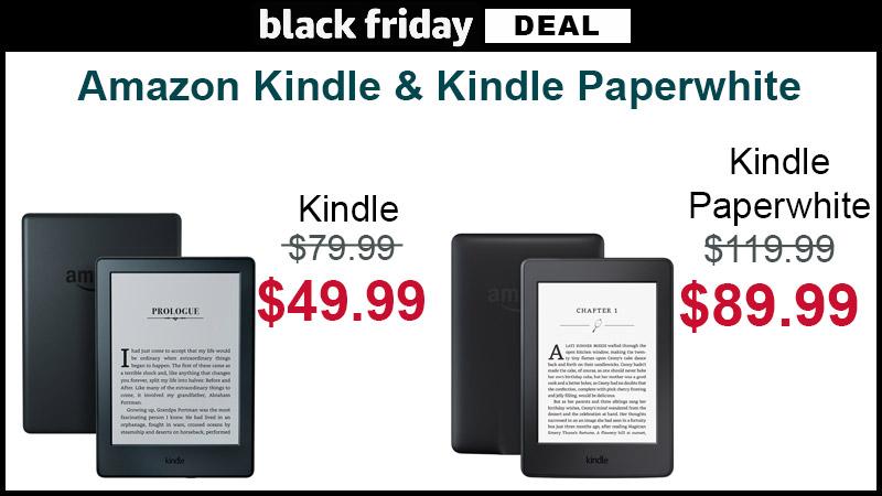 Kindle paperwhite deals black friday 2018