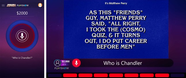 Jeopardy! PlayShow lets you play along as you watch the