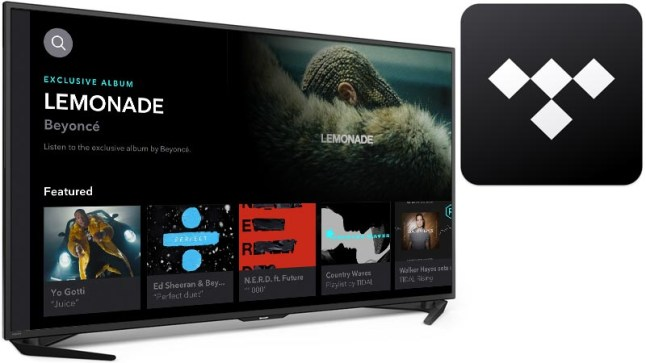 Stream music service Tidal releases new app for the Amazon Fire TV