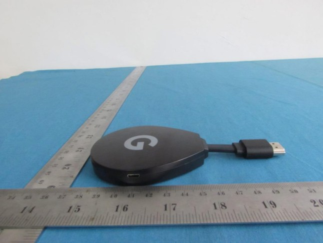 New Google branded pendant streaming device running Android