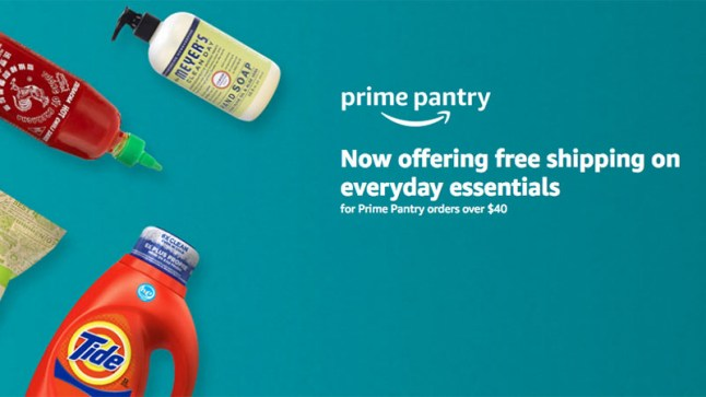 Amazon Prime Pantry is now a $4 99 monthly subscription