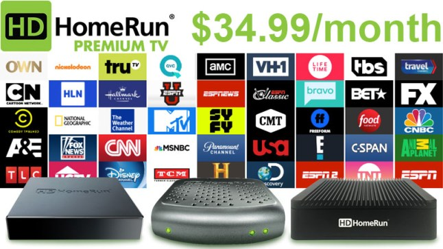 HDHomeRun now offers 45 cable channels for $34 99 a month