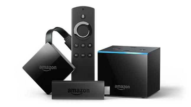 Amazon Fire TV Stick 4K, Fire TV Cube, and Fire TV 3 are receiving