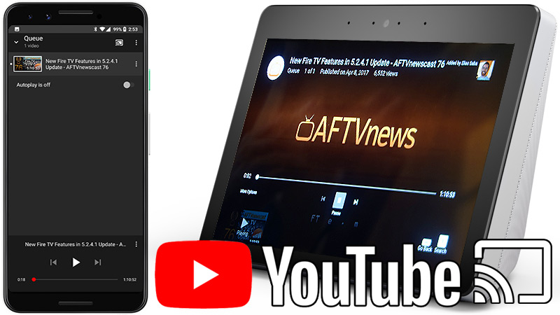 How to cast youtube to amazon fire stick