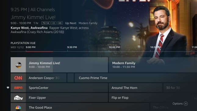 Playstation vue makes live tv easy on fire tv – amazon fire tv.