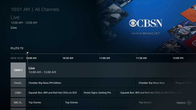 Pluto TV brings 12 Free News Channels to the Amazon Fire