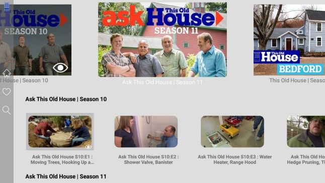 This Old House releases Amazon Fire TV app with free full-length