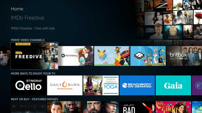 Imdb Freedive Is Amazon S New Free Ad Supported Movie And Tv