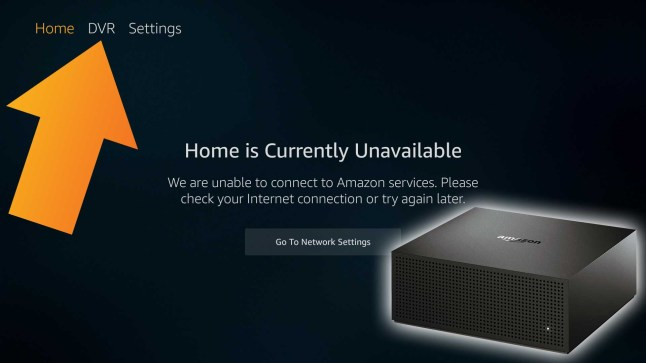 Amazon Fire TV Recast works without an Internet Connection