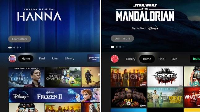 Changed nav mneu on new Fire TV Interface |LeeTVStuff.com