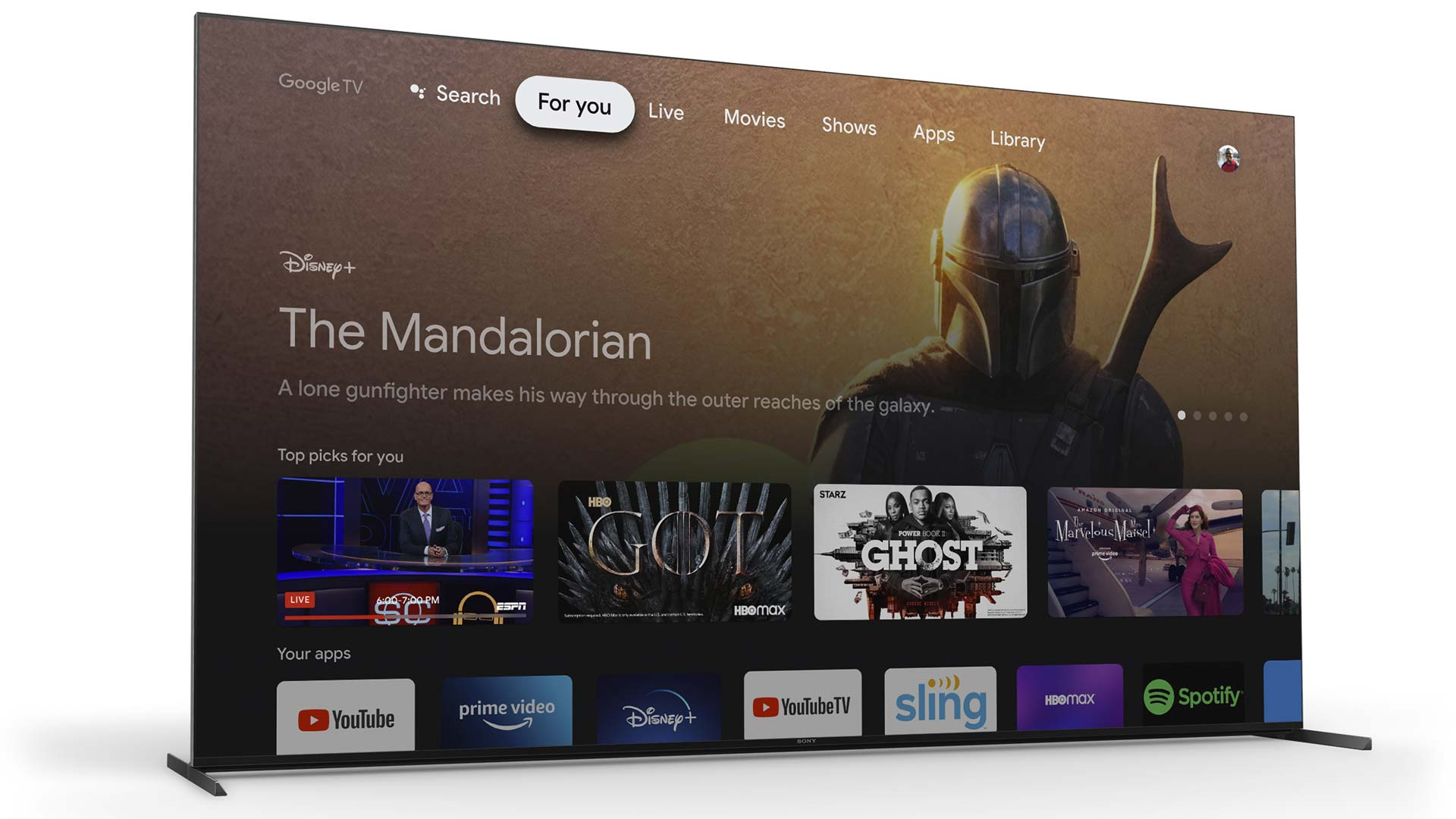 Google TV on Chromecast now autoplays video ads on home screen