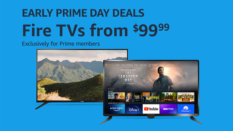 Fire TV Edition televisions are on sale as Early Prime Day Deals — See how these prices compare to past deals