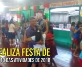 CRAS realiza festa de encerramento das atividades de 2018