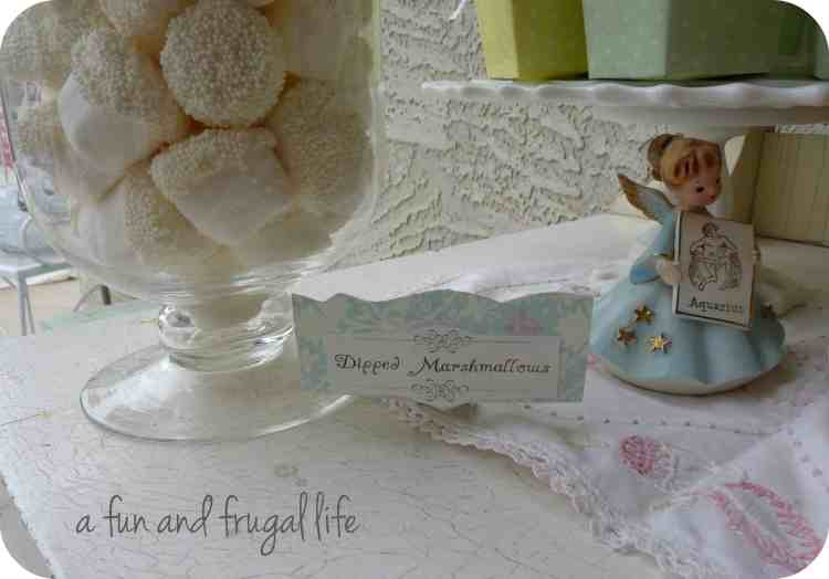A Vintage Shabby Chic Luncheon from A Fun and Frugal Life