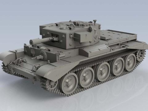 Cromwell Mk.VI A27M Cruiser Tank Mk.VIII - AIRFIX A1374