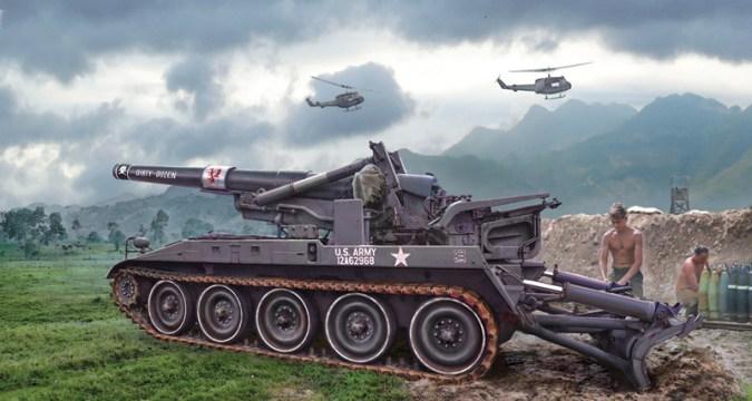 M110 - ITALERI 6574
