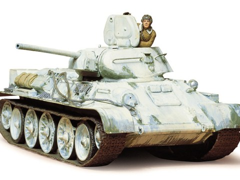 T34/76 1942 Production Russian Tank - TAMIYA 35049