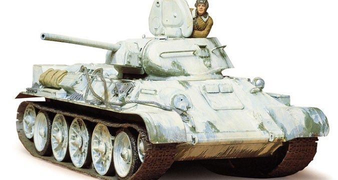 T34/76 1942 Production Russian Tank - TAMIYA 35049