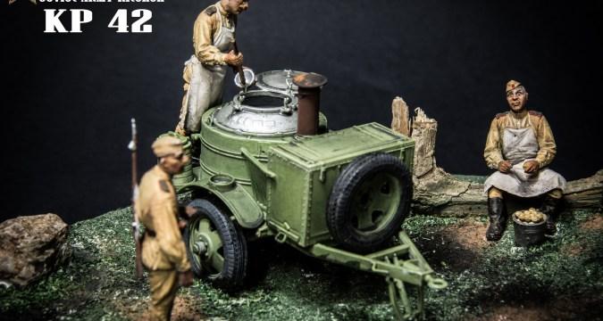 Soviet Army KP42 Kitchen