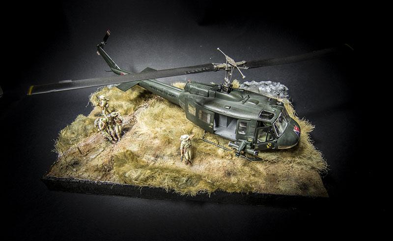 Huey II - Vietnam War Diorama