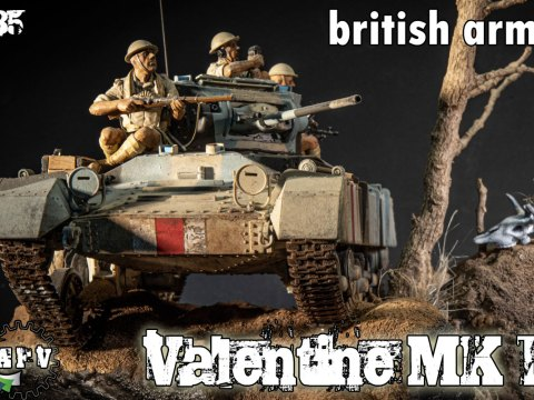 Valentine MK I British Tank
