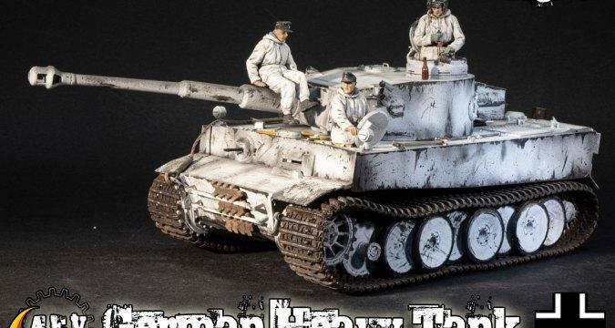 Winter Tiger Tank