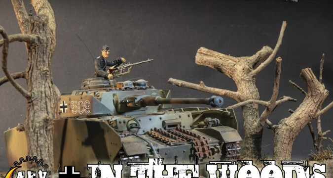 Into the Woods - Panzer IV Diorama