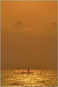2014 Leo van Boxsel Ondergaande zon India