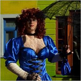 2014 Ton van Boxsel Travestestiet Carnaval Binche