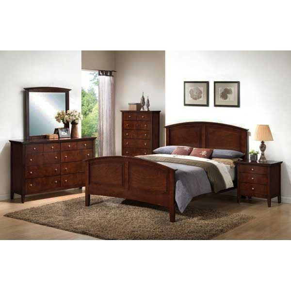 whiskey 5 piece bedroom set 3136-5pcset | lifestyle furniture | afw