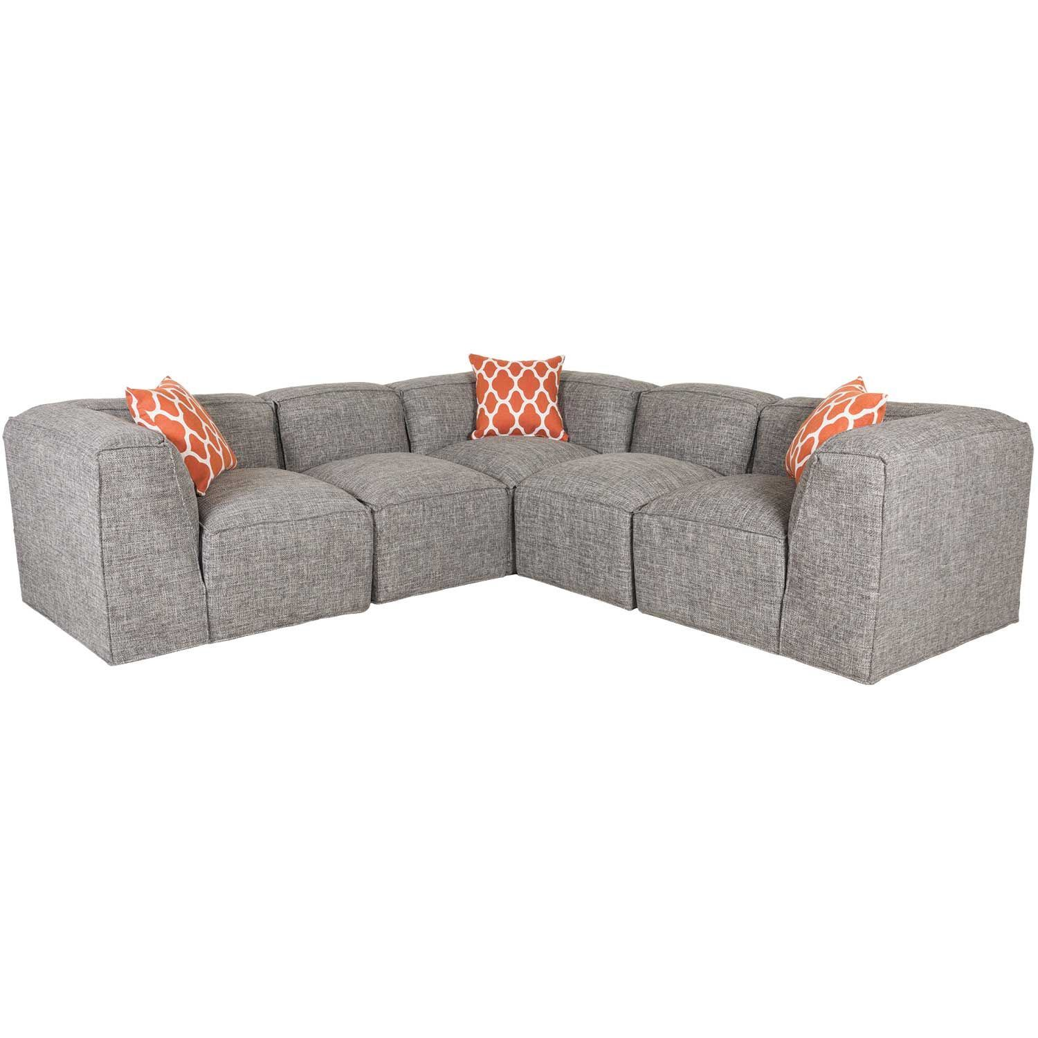 Freestyle 5 Piece Modular Sectional