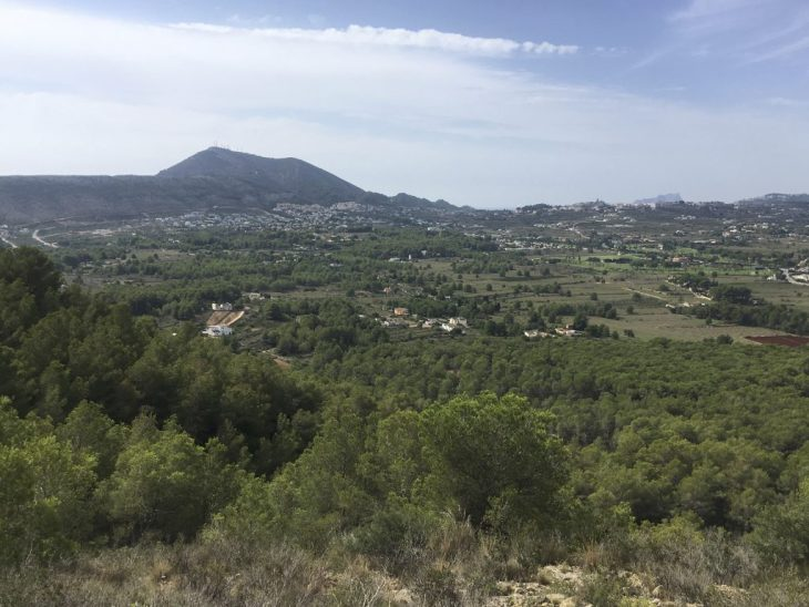 Zona Sugerida del Rally - Zona Rafalet - Xàbia