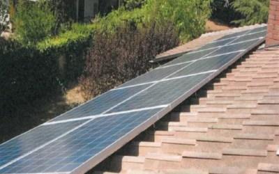 Impianto Fotovoltaico 3 KwP, installato su un tetto a Modena
