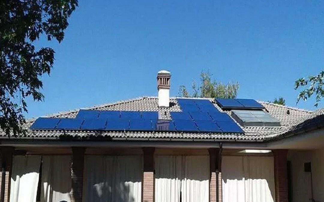 Fotovoltaico, 5 kWp, ottimizzatori di potenza Novellara (RE)