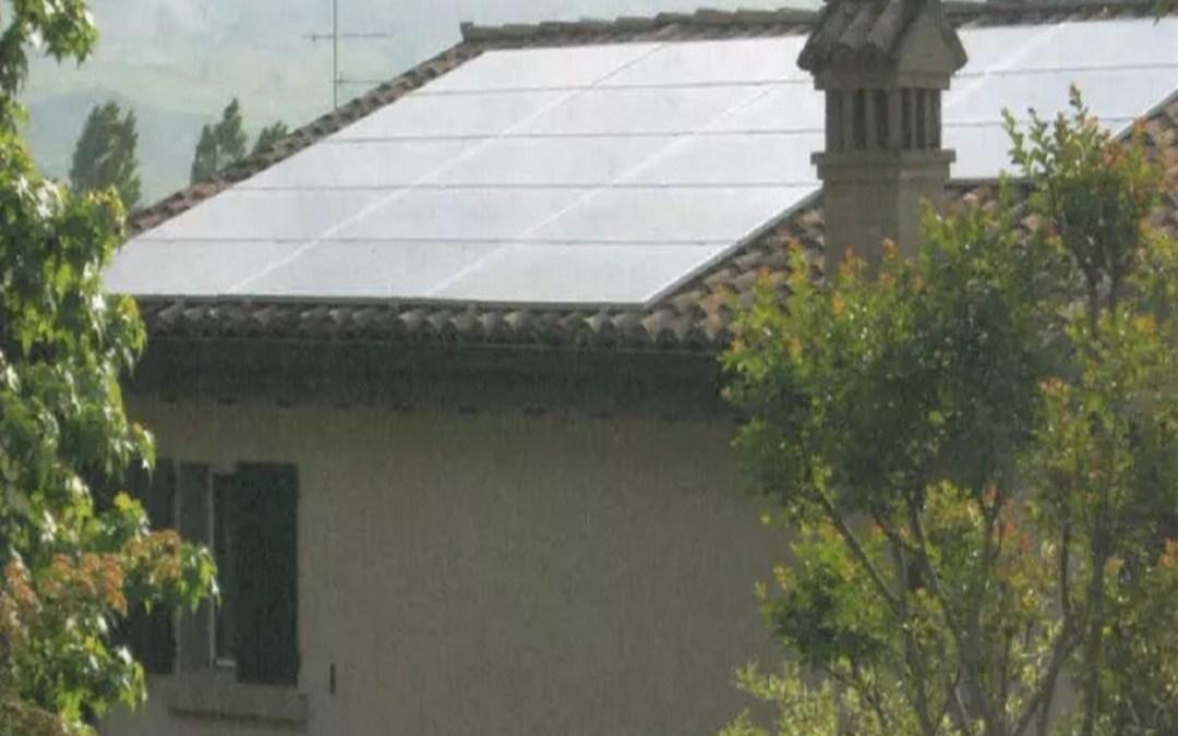 Impianto fotovoltaico da 4,5kWp, a Vezzano Sul Crostolo (RE)