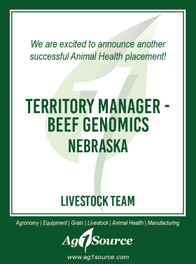 Territory Manager - Beef Genomics
