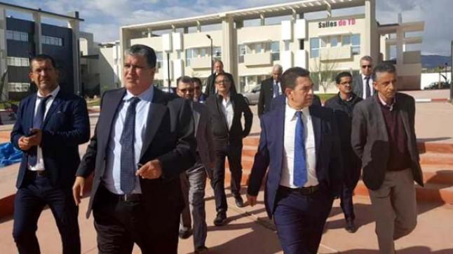 وزير التعليم الجديد يتفقد مؤسسات جامعة إبن زهر