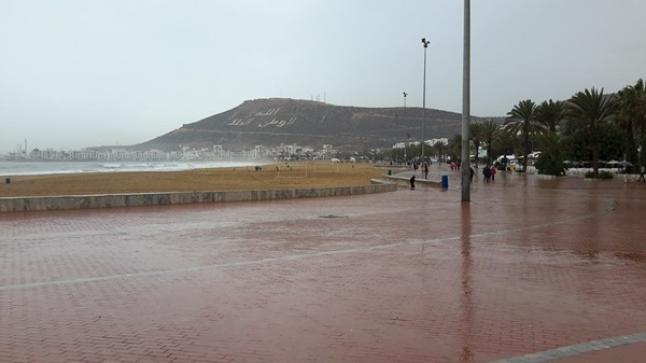 مقاييس الأمطار المسجلة بمناطق سوس وباقي مدن المملكة خلال الـ24 ساعة الماضية